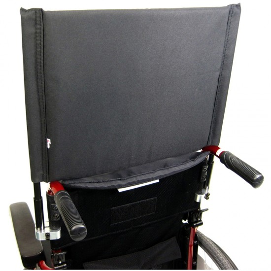 Karman 16 inch Backrest Extension Detachable and Height Adjustable with Clamp 7/8 inch